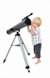 young-child-boy-looking-telescope-1455925